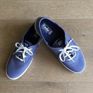 Keds Canvas Dream Foam Sneakers Blue Size 10